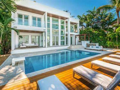 premier villa rental miami